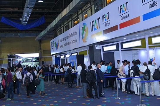 印度孟买网易彩票网环博会(IFAT INDIA)